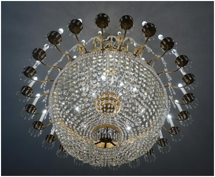 How to look after your crystal chandelier