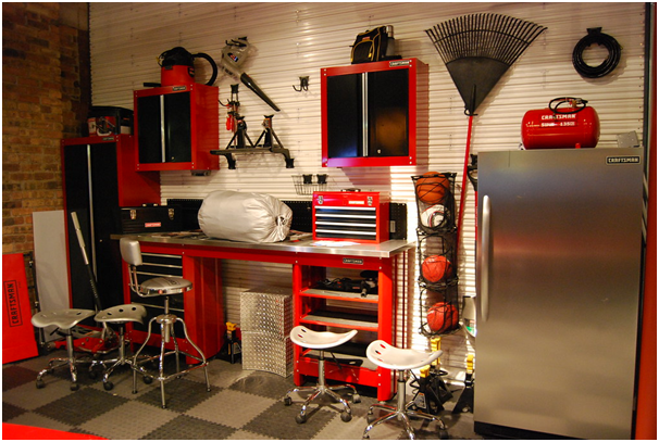 Four ways to store things in your garage